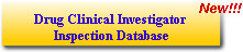 Drug Clinical Investigator Inspection Database